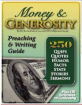 Preaching & Writing Guide on Money & Generosity